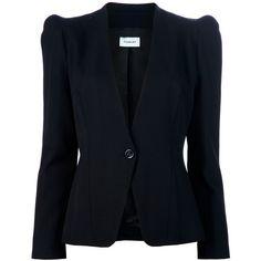 THIERRY MUGLER Structured blazer ($1,830) found on Polyvore