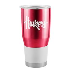 Boelter Nebraska Cornhuskers 30-Ounce Ultra Stainless Steel Tumbler, Red