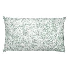 Add colour to your space with this hand designed pattern. Green and white, applied with a sponge technic, give a calming natural vibe perfect for your home.   100% pre-shrunk polyester case Moisture-wicking fabric with a linen feel  Hidden zipper Machine-washable case Shape-retaining 100% polyester insert included (handwash only) White Pillows, Bed Pillows, Hand Designs, Calming, Your Space, Pattern Design, Handmade Items, How To Apply, Shape