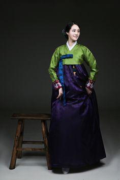 Daum 블로그 - 이미지 원본보기 Korean Hanbok, Korean Dress, Korean Traditional Dress, Traditional Dresses, Oriental Dress, Lolita Dress, Korean Beauty, Asian Fashion, Style Me