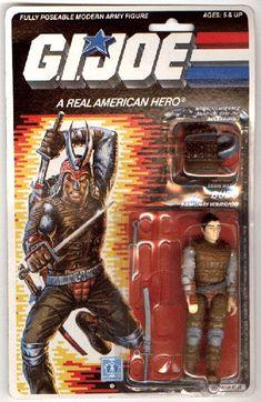 Budo (v1) G.I. Joe Action Figure - YoJoe Archive