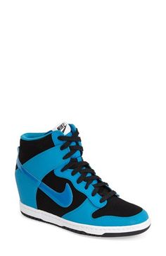 Nike 'Dunk Sky Hi - Essential' Wedge Sneaker (Women) available at #Nordstrom