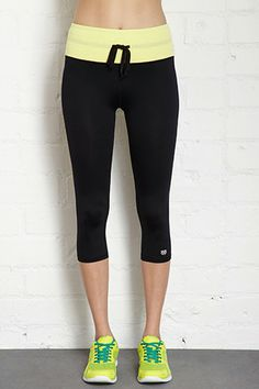 Forever 21 High-Waisted Studio Capris, £14.75, available at Forever 21.