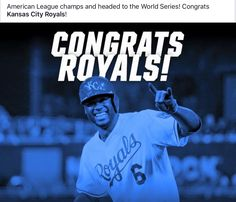 d666a391c72 World Series. Go Kansas City Royals!