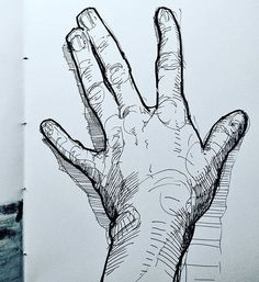a drawing my own hand. as you can see I have crooked fingers. . . . . #sketchbook #drawing #illustration #art #instaart #danishart #emilunderbjerg #figuredrawing #lifedrawing #drawingoftheday #tegning #figure #black #blackandwhite #crosshatching #pen #penandink #igdaily #igart #artdaily #love #like #handddrawing #onlinegallery
