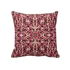 http://www.zazzle.com/pillow_floral_abstract_background-189469127241567528
