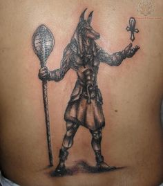 Ancient Egyptian Tattoos | ... Tattoos – Designs, Symbols, Ideas & Meaning : Anubis Egyptian Tattoo
