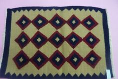 """Name of the product -Table mat  Material –Wool,Tana,Synthetic thread Size -12x16"""" Time frame – Eight Days Cost - Rs 300/-"""