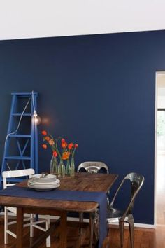 Dulux Paints - Diplomatic - Exterior colour - I love this for an accent wall color.
