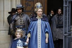 The Musketeers - Queen Anne and Aramis with Athos