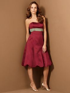 nice wine bridesmaid dresses, especially for my maids of honor!