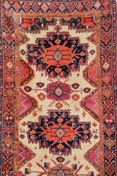 White Grounded Karabagh 'Runner',, White Grounded Karabagh 'Runner', Caucasus,circa 1890, wool/wool, approx. 431 x 132 cm