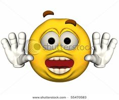 Emoticon single images   Single 3d Emoticon Isolated On White Stock Photo 55470583 ...