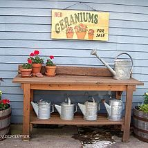 A New Potting Bench