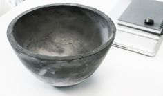 Concrete Bowl colored pattern in mass