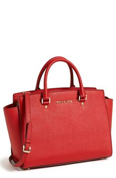 MICHAEL Michael Kors 'Large Selma' Zip-Top Satchel available at #Nordstrom