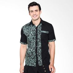 26 Charming Men's Batik Shirt Designs You Can Use For Your Special Ocassions