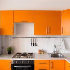 kitchen orange – Vyhledávání Google Orange Kitchen, Basic Kitchen, Kitchen On A Budget, Kitchen Sets, Red Kitchen, Aluminum Kitchen Cabinets, Aluminium Kitchen, Ikea Raskog, Kitchen Renovation Cost