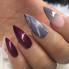 ✨ REPOST - - • - - Red Pointed Nails with Grey Marble and Ombre Accent. Gorgeous combination, right? - - • - - Picture and Nail Design by @naailsbybella Follow her for more gorgeous nail art designs! @naailsbybella @naailsbybella - - • - - #fallnails #marblenails #rednails #greynails #ombrenails #gelnails #pointynails #nailie #naildesign #gelpolish #nailartist #instanail #nailsdone #nailfashion #nailartoohlala #nailjunkie #gelmanicure #prettynails #nailartaddicts #naillove