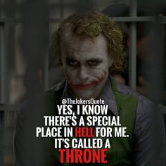 Joker Quotes Classy Joker Quote Soft Heart  Joker's  Pinterest  Joker Quotes Joker