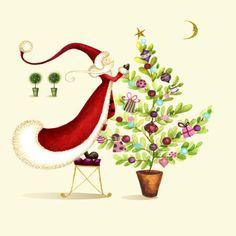 Nicola Rabbett - Santa with Present Tree psd.jpg