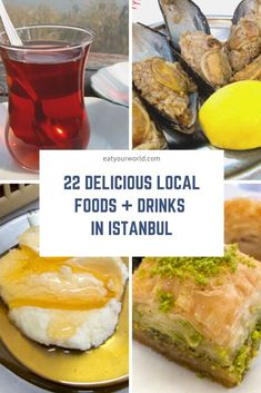 Istanbul Local Food and Travel Guide Wine Recipes, Mexican Food Recipes, Turkish Baklava, Desserts Around The World, Turkish Recipes, Ethnic Recipes, Foodie Travel, Tasty Dishes, So Little Time