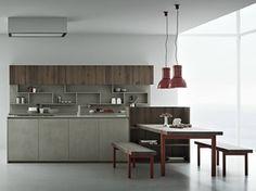 LINE K | Kitchen with island