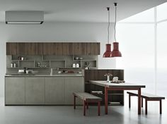 LINE K | Kitchen with island