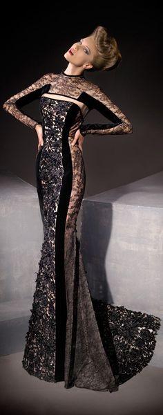 long dress- sooo elegant love black lace prom dresses