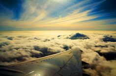 Amazing Airplane Sky Shot