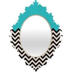 Sky Chevron Mirror