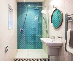 Bathroom Plants, Small Bathroom, Home Remodeling, Curtains, Mirror, Interior, Home Decor, Camille, Couture