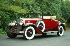 1929 LaSalle 328 Convertible Coupe - (LaSalle brand marketed by General Motors Cadillac division, Detroit, Michigan (1927-1940)