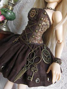Women S Affordable Fashion Websites Steampunk Dolls, Steampunk Crafts, Gothic Dolls, Steampunk Cosplay, Steampunk Design, Victorian Steampunk, Steampunk Fashion, Custom Monster High Dolls, Steampunk Accessories