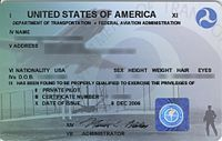 Private pilot licence - Wikipedia, the free encyclopedia