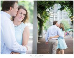 Boston Botanical Garden Engagement Session by Alicia Ann Photographers