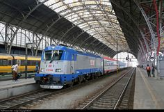 RailPictures.Net Photo: 380 007 CD - Ceske Drahy CD 380 at Prague, Czech Republic by MarkT