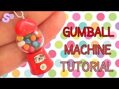 DIY Functional Gumball Machine or Candy Machine - How To Make Working Candy Dispenser Tutorial - YouTube