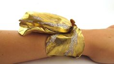 JAR gold and diamond tulip bangle photographed by Vanessa Cron, jewelry archivist at Christie's