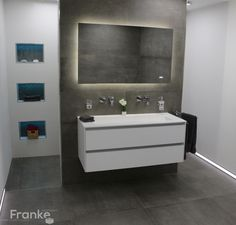 Wandfliese Betonoptik Waschtisch Bathroom Pinterest Bath - Bad fliesen kaufen online