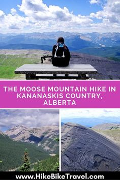 The Moose Mountain Hike in Kananaskis Country, Alberta - Hike Bike Travel Hiking Places, Hiking Trails, Banff National Park, National Parks, Lac Louise, Alberta Travel, Road Trip, Glacier, Hiking Photography