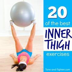 best inner thigh exercises tone tighten