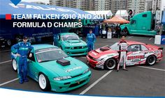 Team Falken's new look for Formula D- Modified, By Toni Avery