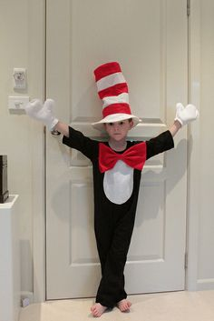 Cat in the Hat Dress Up by theprincessandthemonkey, via Flickr