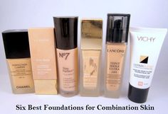 Best Foundation for Combination Skin.