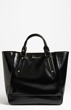 25e05d60143c Burberry Patent Leather Tote available at Nordstrom. Taschen Designer  Handbags