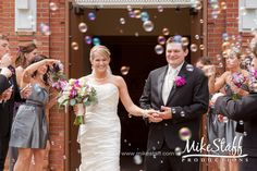 Big day #3: Leaving through bubbles