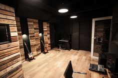 recording room two (black room)