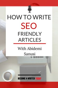 How To Write SEO Friendly Articles- In this podcast episode you'll learn: Why every writer should learn to write for the web,how to balance writing fiction and nonfiction, what's working in SEO today for writers and authors. Blog Writing, Writing Skills, Writing Tips, Seo Marketing, Online Marketing, Digital Marketing, Seo Tutorial, Seo Software, Vídeos Youtube