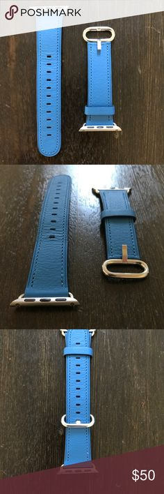 38mm Apple Watch Classic Buckle Blue Like new 38mm authentic Apple Watch Classic Buckle in blue. Apple Watch not included. Apple Accessories Watches